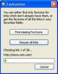 Screenshot programu FavIconizer 1.2