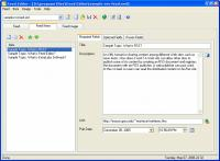 Screenshot programu FeedEditor 5.3