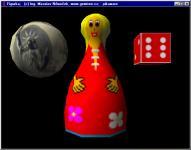 Screenshot programu Figurka