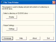 Screenshot programu File Tree Printer 3.2.06.841