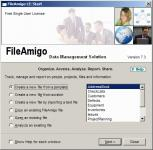 Screenshot programu FileAmigo LE