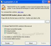 Screenshot programu FileASSASSIN 1.04