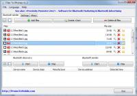 Screenshot programu Files To Phones 2.1