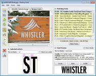 Screenshot programu Find my Font 2.3.02