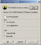 Screenshot programu Firebird 2.1.1