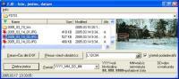 Screenshot programu FJD - foto, jméno, datum 1.4