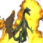 Screenshot programu Flaming Dragon