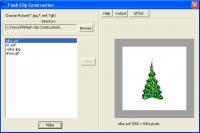 Screenshot programu Flash Clip Construction 1.0