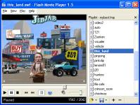 Screenshot programu Flash Movie Player 1.5