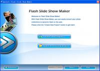 Screenshot programu Flash Slide Show Maker Pro 4.40