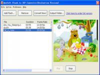 Screenshot programu Flash to 3GP Converter 2.12