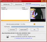 Screenshot programu Flash2Video 7.5