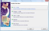 Screenshot programu FlashBoot 2.1 c