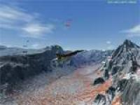 Screenshot programu Flight Simulator
