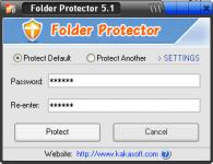 Screenshot programu Folder Protector 6.01
