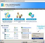 Screenshot programu FolderShare 2.5.10