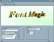 Screenshot programu Font Magic 1.0