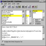 Screenshot programu FontShow 3.7