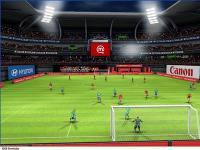 Screenshot programu Football Challenge 2008