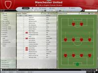 Screenshot programu Football Manager  2008