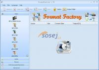 Screenshot programu Format Factory 3.8.0.0