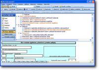 Screenshot programu Formuláře DP 2008