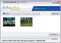 Screenshot programu Fotoalba nahrávač 1.0.1.5
