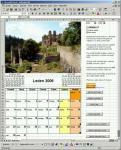 Screenshot programu Fotokalendář 1.02