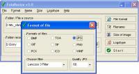 Screenshot programu FotoResize 3.0