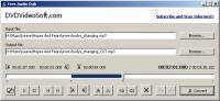 Screenshot programu Free Audio Dub 1.7.7
