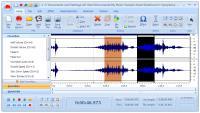 Screenshot programu Free Audio Editor 2015 9.2.4