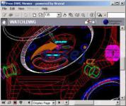 Screenshot programu Free DWG Viewer 7.3.0.174
