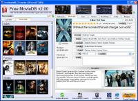 Screenshot programu Free MovieDB 6.40