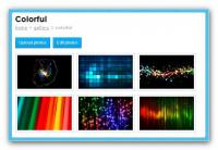Screenshot programu Free PHP gallery