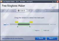 Screenshot programu Free Ringtone Maker 2.4.0.2881