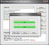 Screenshot programu Free WMA to MP3 Converter 1.16