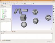 Screenshot programu FreeCAD 0.15