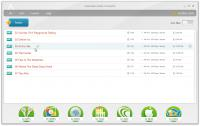 Screenshot programu Freemake Audio Converter 1.1.7.3