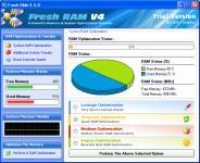 Screenshot programu Fresh RAM 5.0.0