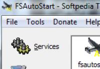 Screenshot programu FSAutoStart 1.1 Build 11
