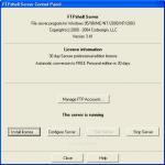 Screenshot programu FTPshell server 6.29