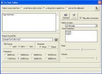 Screenshot programu Fx Text Talker