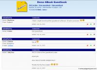 Screenshot programu GBook - PHP Guestbook 17