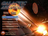 Screenshot programu Galactic Arkanoid 1.0