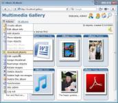 Screenshot programu Gallery Server Pro 3.0.1