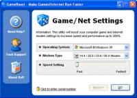 Screenshot programu GameBoost 2.6.16.2014