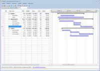 Screenshot programu Ganttsoft Project Manager 2.2.0.0