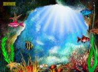Screenshot programu Garden In The Depth 1.0