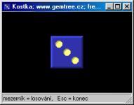Screenshot programu Gemtree Kostka