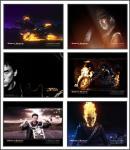 Screenshot programu Ghost Rider Screensaver